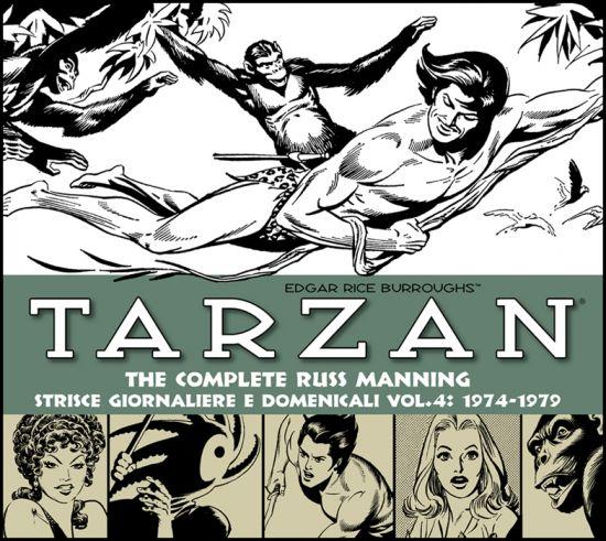 COSMO BOOKS - TARZAN - TUTTE LE STRISCE QUOTIDIANE E DOMENICALI 4 - 1974-1979