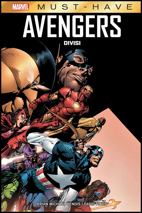 MARVEL MUST HAVE #     2 - AVENGERS DIVISI