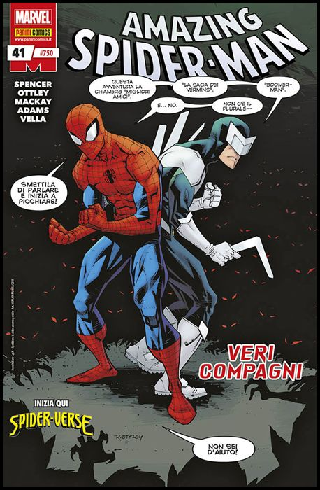 UOMO RAGNO #   750 - AMAZING SPIDER-MAN 41