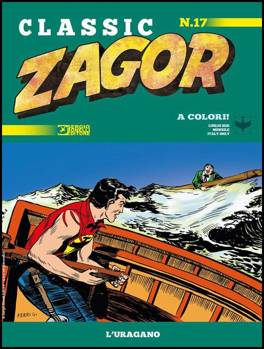 ZAGOR CLASSIC #    17: L'URAGANO
