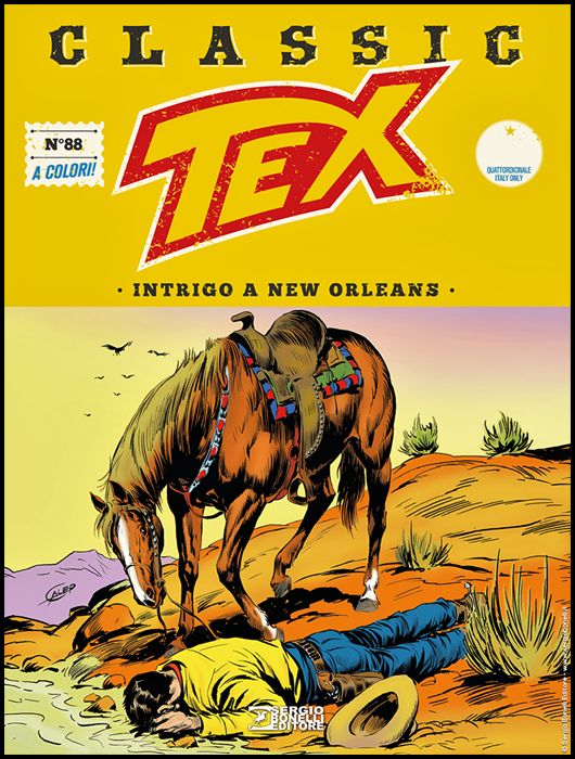 TEX CLASSIC #    88: INTRIGO A NEW ORLEANS