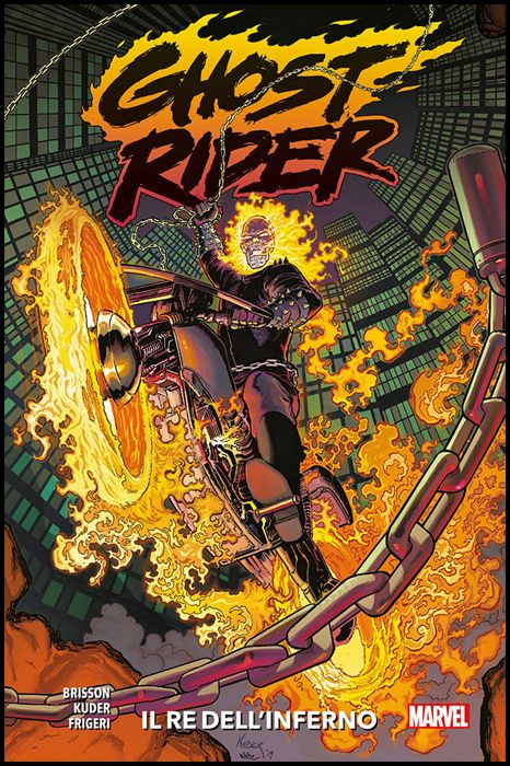 MARVEL COLLECTION INEDITO - GHOST RIDER #     1: IL RE DELL'INFERNO