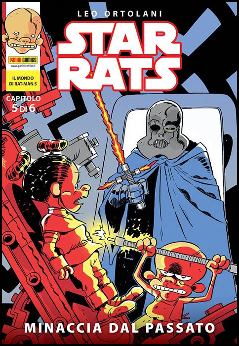 IL MONDO DI RAT-MAN #     5 - STAR RATS 5: MINACCIA DAL PASSATO
