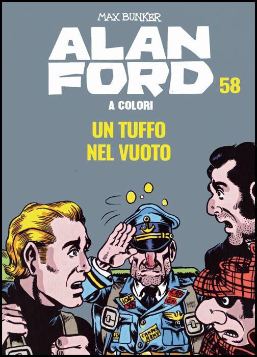 ALAN FORD A COLORI #    58: UN TUFFO NEL VUOTO + FIGURINE
