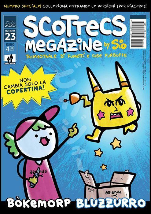 SCOTTECS MEGAZINE #    23 - BOKEMORP BLUZZURRO