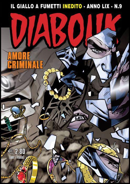 DIABOLIK ORIGINALE ANNO 59 #     9: AMORE CRIMINALE