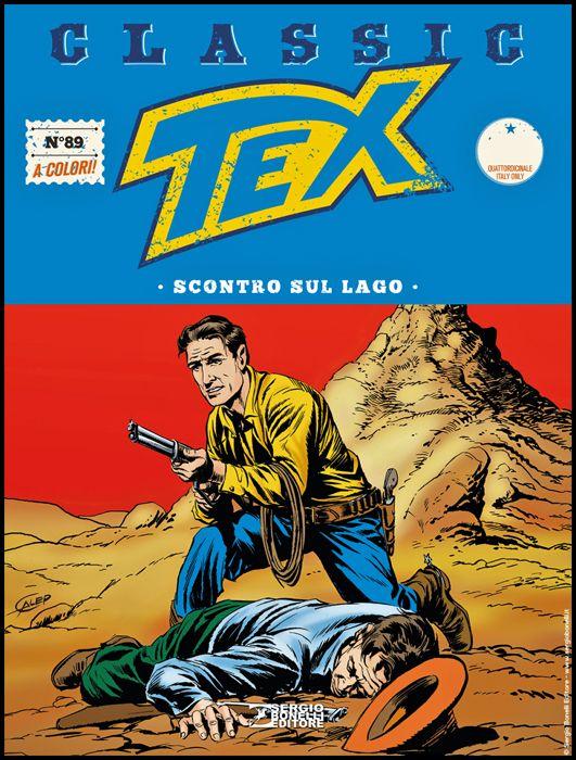 TEX CLASSIC #    89: SCONTRO SUL LAGO