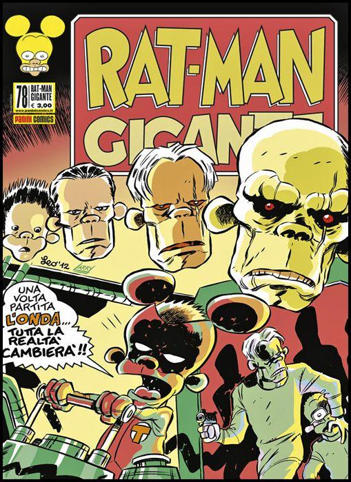 RAT-MAN GIGANTE #    78: L'ONDA