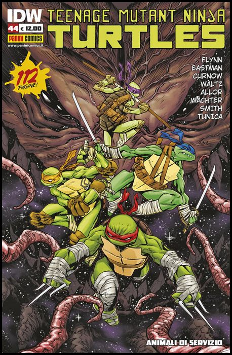 TEENAGE MUTANT NINJA TURTLES #    44