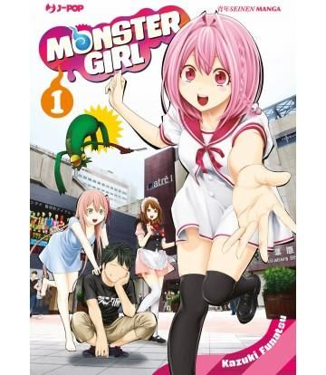 MONSTER GIRL 1/14  COMPLETA NUOVI