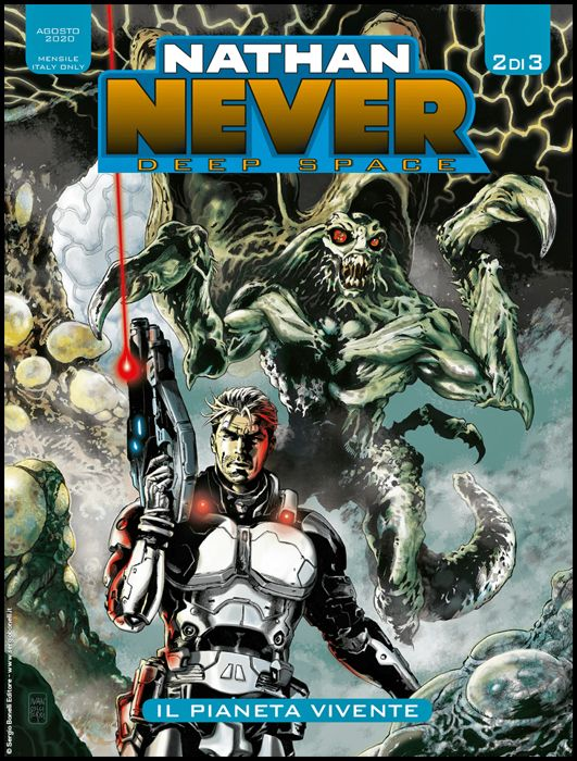 NATHAN NEVER GIGANTE #    39 - NATHAN NEVER DEEP SPACE 2: IL PIANETA VIVENTE
