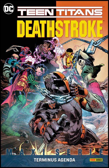 DC COMICS MAXISERIE - DEATHSTROKE/TEEN TITANS: TEMINUS AGENDA