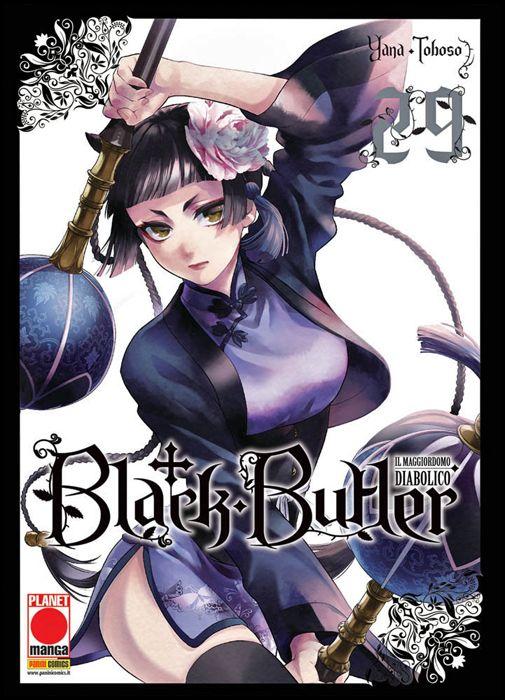 BLACK BUTLER #    29 - IL MAGGIORDOMO DIABOLICO - KUROSHITSUJI