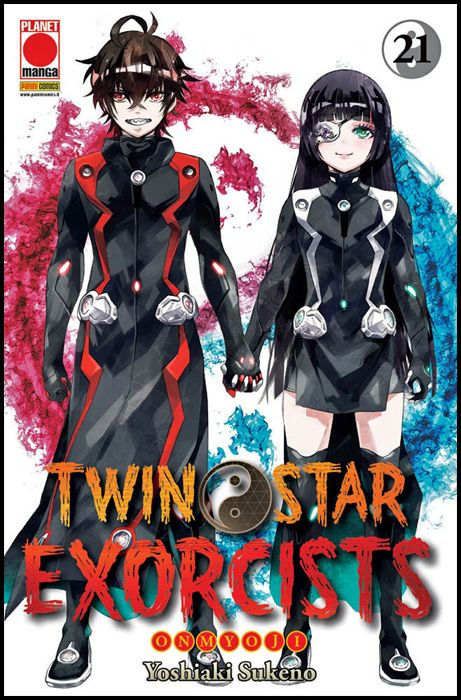 MANGA ROCK #    28 - TWIN STAR EXORCISTS 21