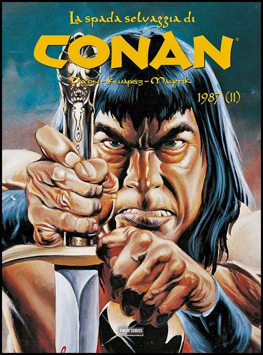 CONAN LA SPADA SELVAGGIA CARTONATO #    24 - 1987 PARTE 2