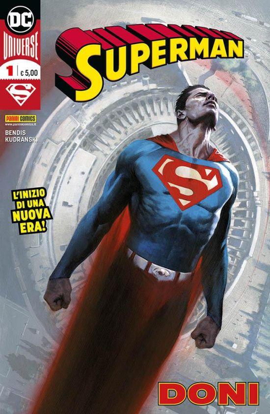 SUPERMAN 1/5  NUOVI + ALFA GOLD EDITION