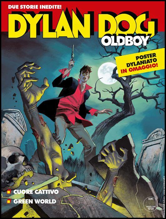 DYLAN DOG MAXI #    40 - OLDBOY 2: CUORE CATTIVO - GREEN WORLD + POSTER