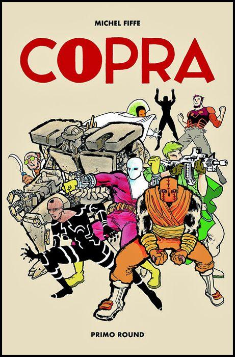 PANINI COMICS 100% HD - COPRA #     1: PRIMO ROUND