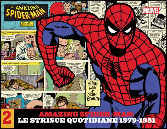AMAZING SPIDER-MAN: LE STRISCE QUOTIDIANE #     2 - 1979/1981