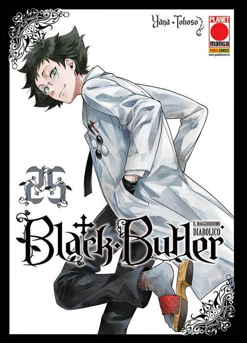 BLACK BUTLER #    25 - IL MAGGIORDOMO DIABOLICO - KUROSHITSUJI - 1A RISTAMPA