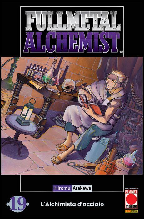 FULLMETAL ALCHEMIST #    19 - 4A RISTAMPA