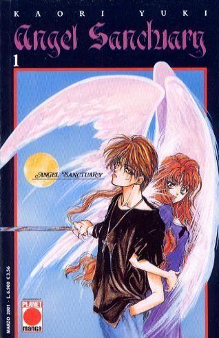 ANGEL SANCTUARY 1/26 COMPLETA  TUTTI ORIGINALI TRANNE IL 4