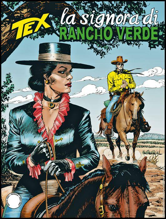 TEX GIGANTE #   718: LA SIGNORA DI RANCHO VERDE