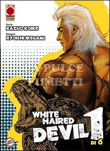 WHITE HAIRED DEVIL 1/4 NUOVI