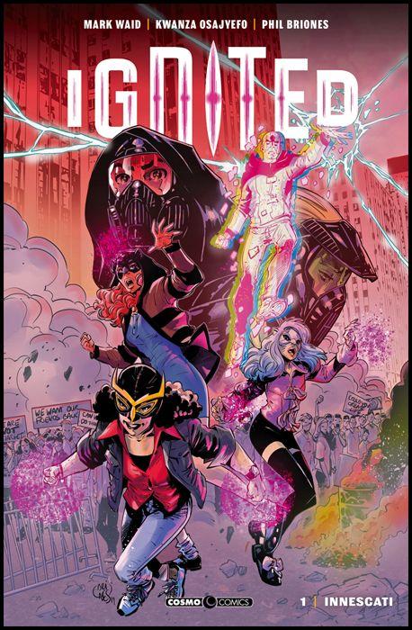 COSMO COMICS #    88 - IGNITED 1: INNESCATI