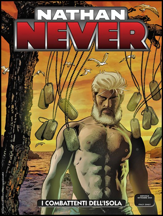 NATHAN NEVER #   352: I COMBATTENTI DELL'ISOLA