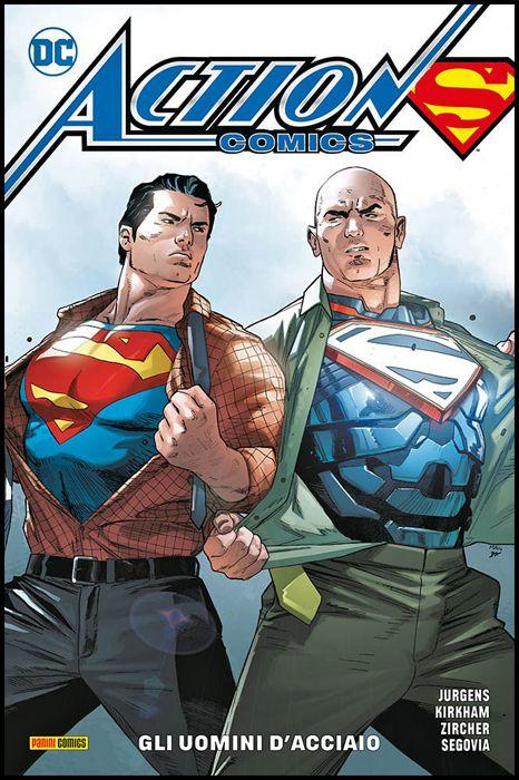 DC REBIRTH COLLECTION - SUPERMAN ACTION COMICS #     3: GLI UOMINI D'ACCIAIO