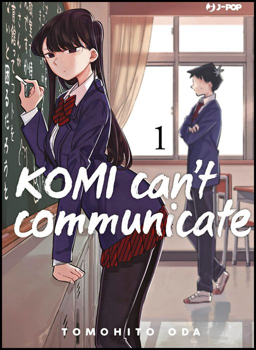 KOMI CAN'T COMMUNICATE #     1 - 1A TIRATURA KOMI-NOTEPAD