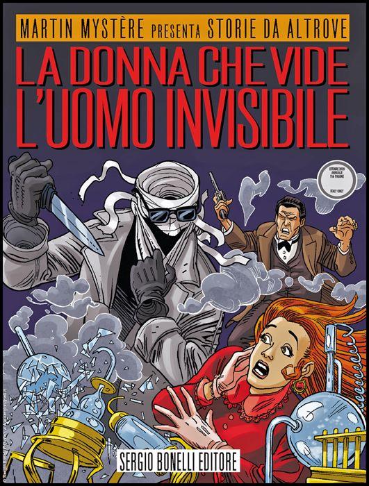 STORIE DA ALTROVE #    23: LA DONNA CHE VIDE L'UOMO INVISIBILE