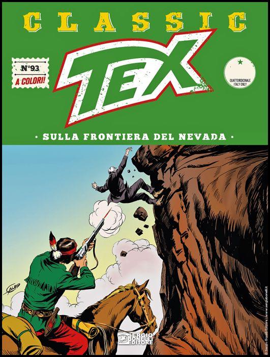 TEX CLASSIC #    93: SULLA FRONTIERA DEL NEVADA