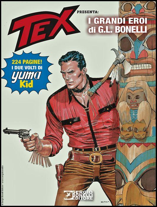AVVENTURA MAGAZINE #     7 - TEX PRESENTA: I GRANDI EROI DI G. L. BONELLI 2