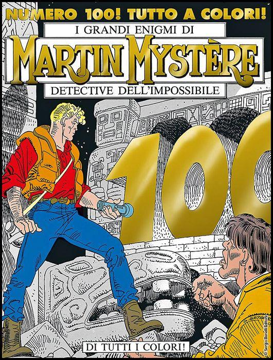 MARTIN MYSTERE #   100: DI TUTTI I COLORI! - ORO - A COLORI