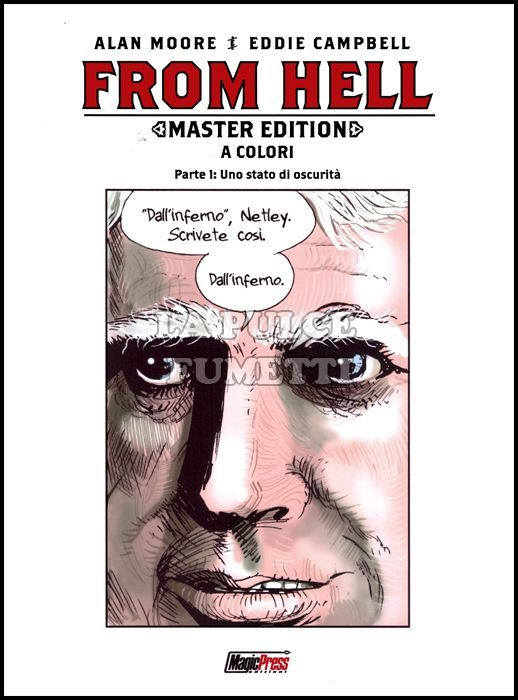 FROM HELL MASTER EDITION 1/5 COMPLETA NUOVI
