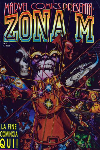 ZONA M 1/12 - MARVEL COMICS PRESENTA 1/12