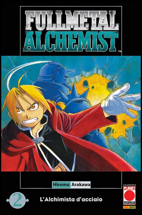 FULLMETAL ALCHEMIST #     2 - 8A RISTAMPA