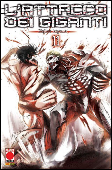 GENERATION MANGA #    11 - L'ATTACCO DEI GIGANTI 11 - 3A RISTAMPA