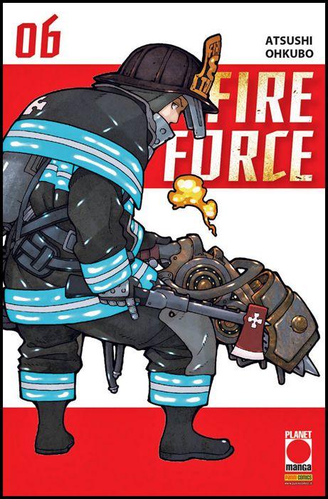 MANGA SUN #   117 - FIRE FORCE 6 - 1A RISTAMPA