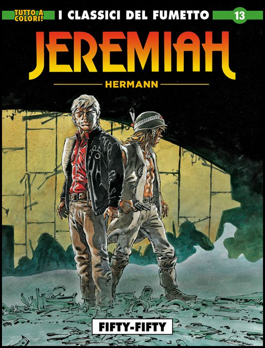 COSMO SERIE BLU #    97 - JEREMIAH 13: FIFTY-FIFTY