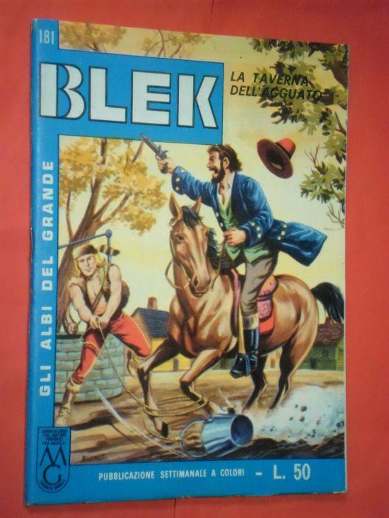 ALBI DEL GRANDE BLEK #   181: LA TAVERNA DELL'AGGUATO