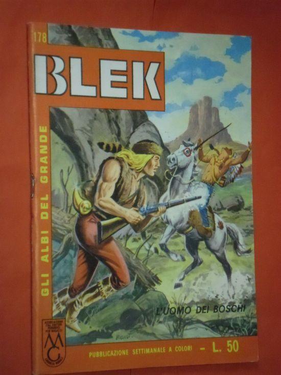 ALBI DEL GRANDE BLEK #   178: L'UOMO DEI BOSCHI