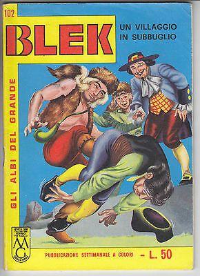 ALBI DEL GRANDE BLEK #   102: UN VILLAGGIO IN SUBBUGLIO