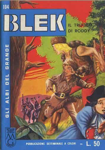 ALBI DEL GRANDE BLEK #   104: IL TRUCCO DI RODDY