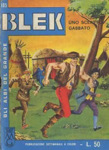 ALBI DEL GRANDE BLEK #   105: UNO SCERIFFO  GABBATO