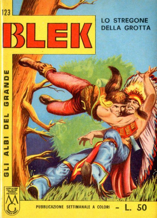 ALBI DEL GRANDE BLEK #   123: LO  STREGONE DELLA GROTTA