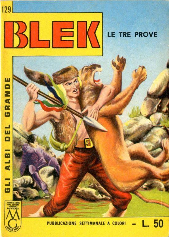 ALBI DEL GRANDE BLEK #   129: LE TRE PROVE
