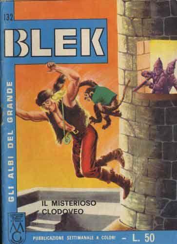 ALBI DEL GRANDE BLEK #   132: IL MISTERIOSO CLODOVEO